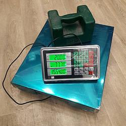 Товарные весы повышенной точности Олимп ВПЕ-B-12 300 кг (400х500мм)