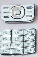 Клавиатура Nokia 5200/5300 silver