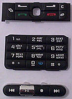 Клавиатура Nokia 3250 black orig