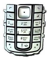 Клавиатура Nokia 6230 silver