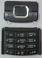 Клавиатура Nokia 6500 slide black