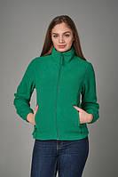 Женская флисовая куртка JHK POLAR FLEECE LADY цвет зеленый (KG)