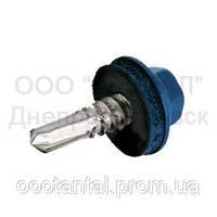 Саморез шуруп для профнастила с шестигранной головкой окрашенный DIN 7504K