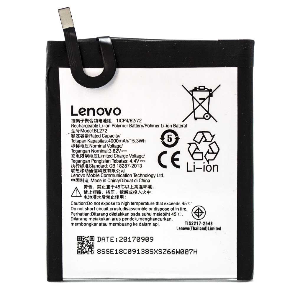 Аккумулятор акб ориг. к-во Lenovo BL272 K6 Power | K33a42, 4000 мAh