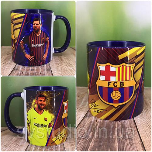 """Печать на кружках,Чашка """"Messi"""""""