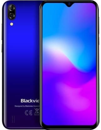 "Смартфон Blackview A60 Pro 3/16GB Blue, 8+5/5Мп, 2sim, 6.09"" IPS, 4080mAh, 4G (LTE), 4 ядра"