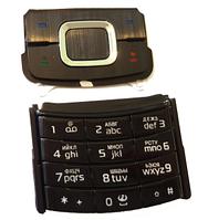 Клавиатура Nokia 6500 slide black orig