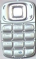 Клавиатура Nokia 6085 silver orig