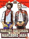 """Байкерська футболка """"Ковбой Мальборо і Харлей Девідсон"""", фото 3"""