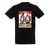"""Байкерская футболка """"Ковбой Мальборо и Харлей Девидсон"""", фото 2"""