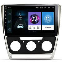 ➽Штатная автомобильная магнитола Skoda Octavia 10.1 дюйм (2008-2013г.в.) экран 2.5D IPS 4 ядра 4G Android WiFi