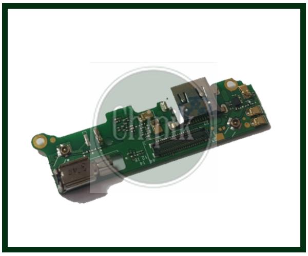 Разъем заряда на плате для Sony Xperia XA2, H4133, H3133, H3123, type-c
