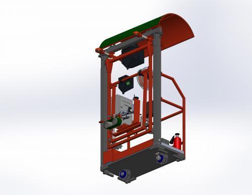 Установка для сварки вертикальных резервуаров, напольный тип ROWES