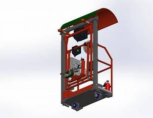 Установка для зварювання вертикальних резервуарів, підлоговий тип ROWES