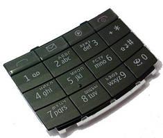 Клавиатура Nokia X3-02 (rus/eng) Black