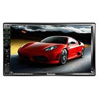 Автомагнитола 2DIN отличный экран Fantom FP-7080 Black/Multicolor