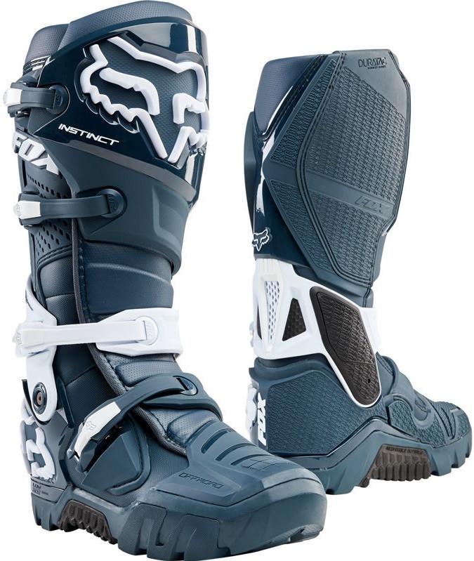 Мотоботы Fox Instinct X Boot синие, 8