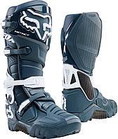 Мотоботы Fox Instinct X Boot синие, 14, фото 1