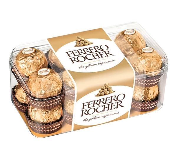 Шоколадные конфеты Ferrero Rocher 16 шт 200 г