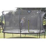 Батут EXIT Silhouette 244 см с защитной сеткой розовый, фото 7
