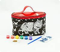 Косметичка-раскраска детская «Кот» COC-01-03