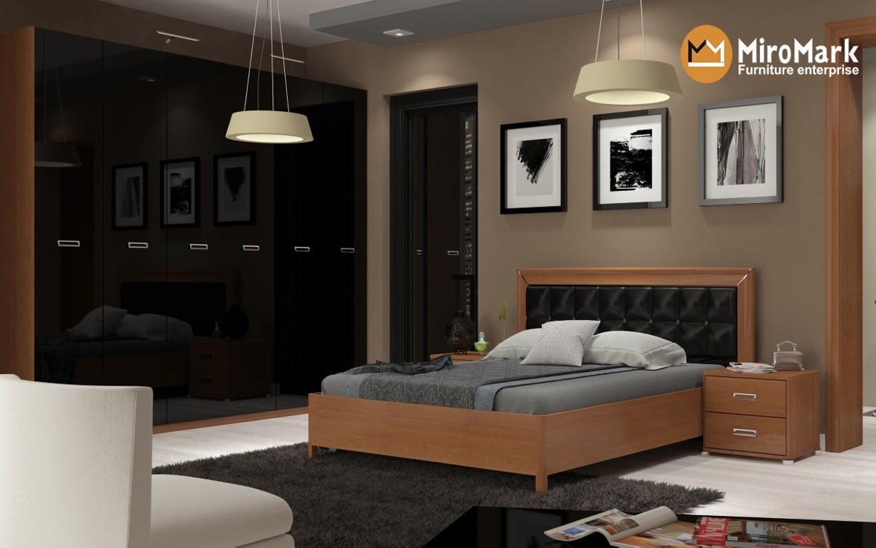 Кровать Белла Мягкая спинка 160х200 см. МироМарк