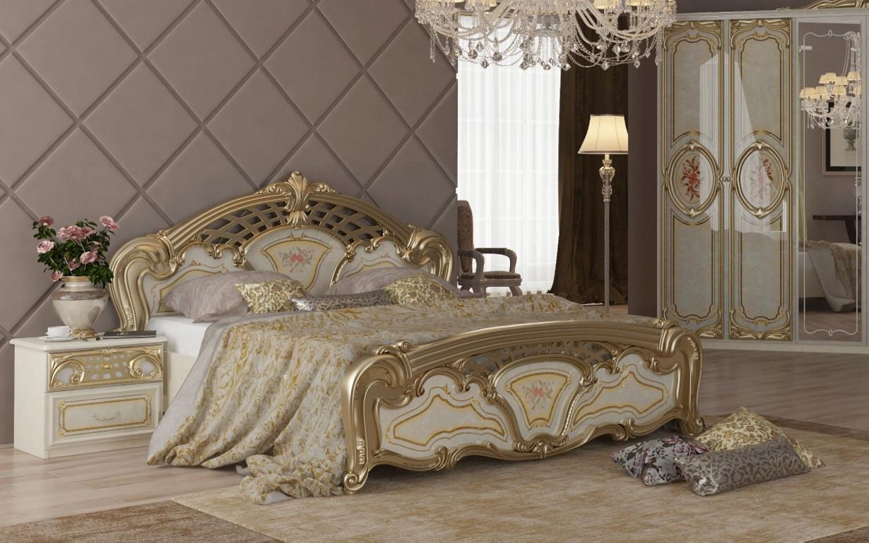Кровать Реджина Голд 160х200 см. МироМарк