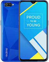"Смартфон Oppo Realme C2 2/16Gb Diamond Blue, 13+2/5Мп, 2sim, 6.1"" IPS, 4000mAh, 4G (LTE), 8 ядер, фото 1"