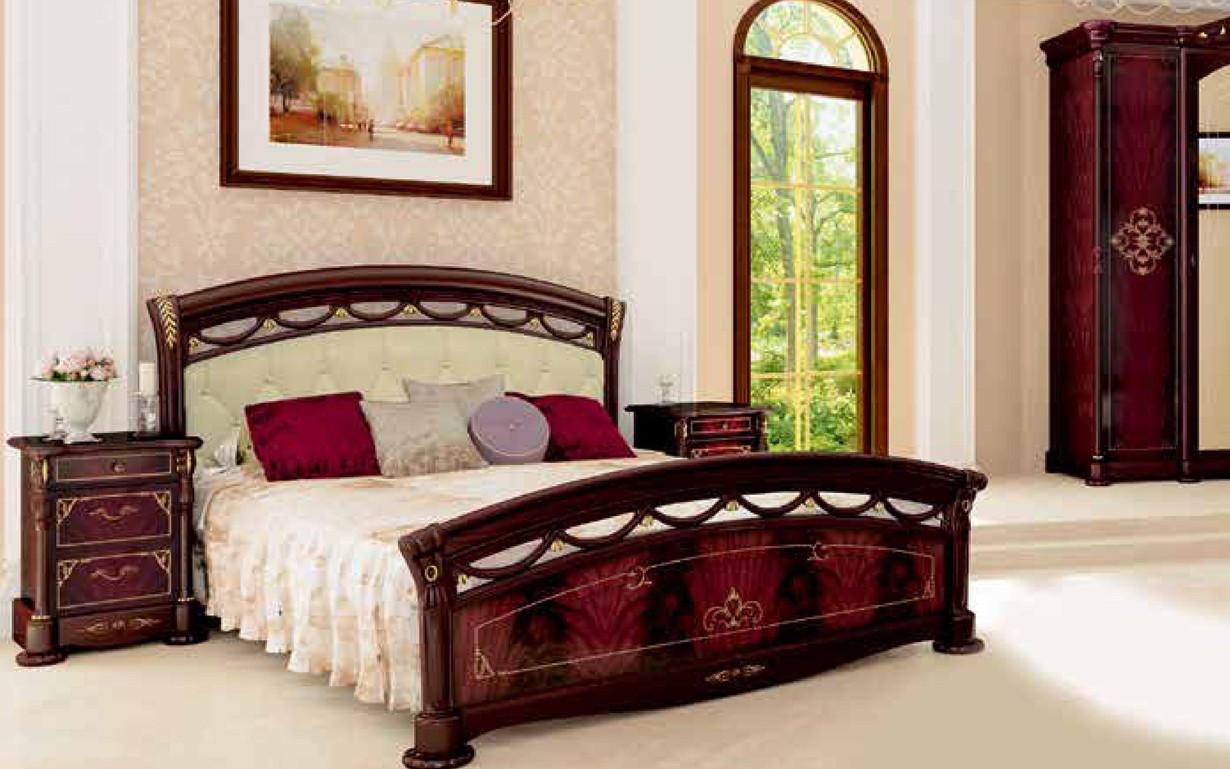 Кровать Роселла Мягкая спинка с механизмом 160х200 см. МироМарк