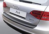 Пластиковая защитная накладка на задний бампер для Audi A4 Avant 2008-2012, фото 3