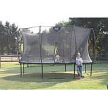 Батут EXIT Silhouette 305 см с защитной сеткой зелёный, фото 7