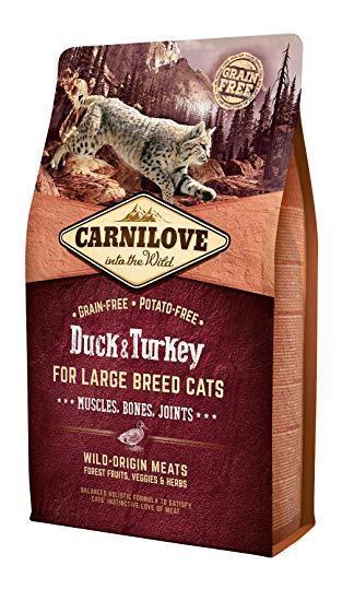 Корм для котів Carnilove Cat Large Breed Duck & Turkey 6кг