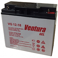 Гелевая аккумуляторная батарея Ventura VG 12-18 Gel, фото 1
