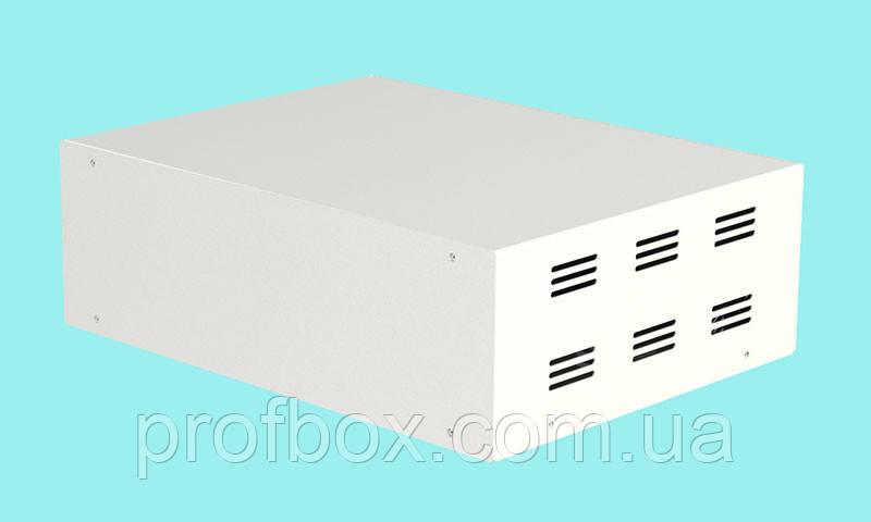 Корпус металевий MB-40 (Ш304 Г230 В100) білий, RAL9016(White textured)