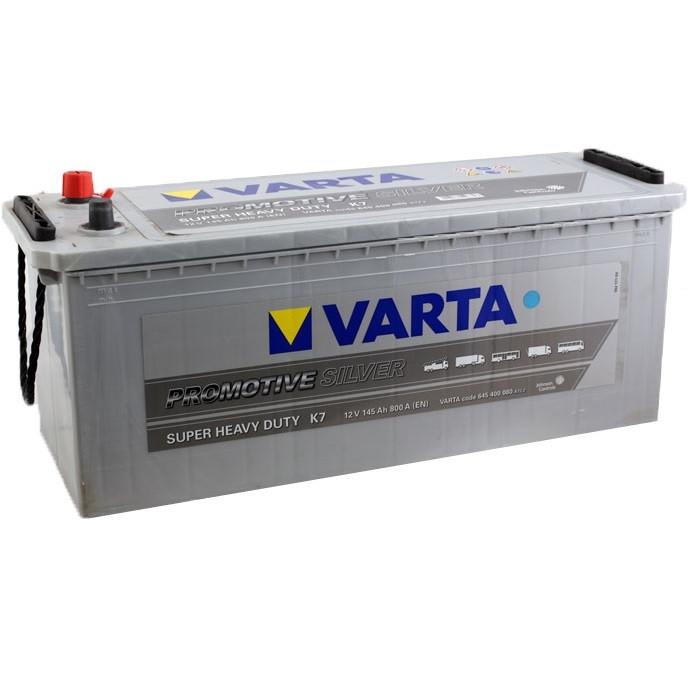 Аккумулятор VARTA 6СТ 145 Silver Truck (K7)