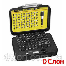 """Набор бит STANLEY 1-13-902 """"Expert"""",  Ph1, Ph2, Pz0, Pz1, Pz4, T15, T20, L=25 мм, 60 шт, пластиковая коробка"""