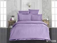 Семейное постельное белье страйп-сатин ST-1009 ТМ TAG