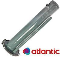 Фланец нержав. под стеатитовый тэн 1.5кВт. 6-ти кассетный для бойлера Атлантик Ф-118 мм. с местом под анод