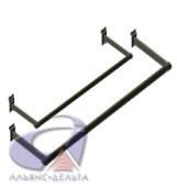 Вешалка для одежды П-образная 900*300мм из трубы прямоугольной 25*12.5мм