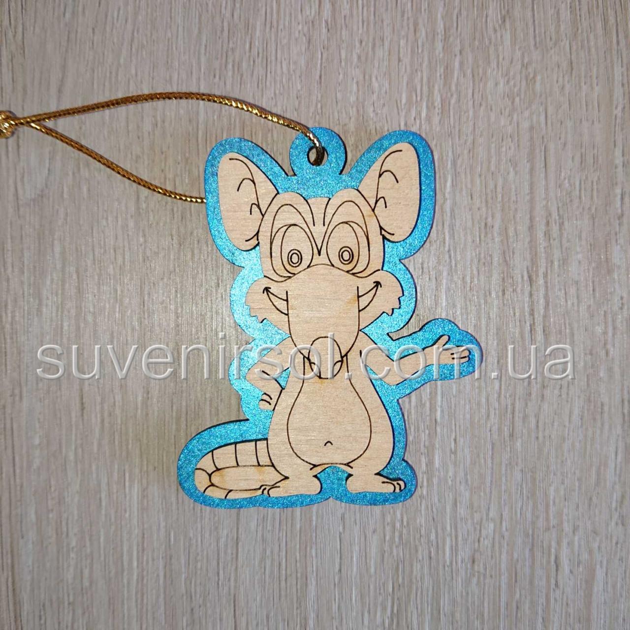 Магнит-подвеска Мышка 8
