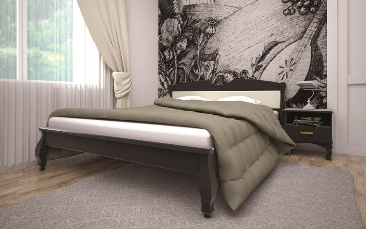 Кровать Корона 3 90х190 см. Тис