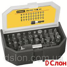 """Набор бит STANLEY 1-13-903 """"Expert"""",  Ph2, Ph3, Pz2, Pz1, T10, T25, T30, L=25 мм, 31 шт, пластиковая коробка"""