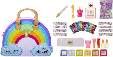 Сумка для создания слаймов Пупси Слайм Радуга с сюрпризами Poopsie Rainbow Slime Kit with 35+ Makeup, фото 2