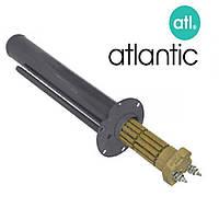 Фланец колба + стеатитовый тэн 1.5 кВт.6-ти кассетный для бойлера Атлантик Ф-118 мм. с местом под анод