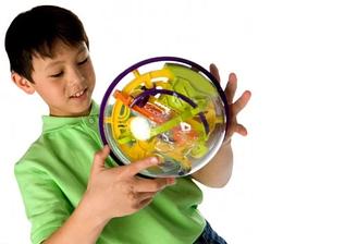 Головоломка 3D шар 11.5 см развивающая детская игрушка
