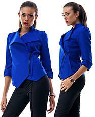 Стильный пиджак с коротким рукавом, фото 3