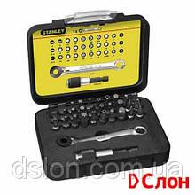 """Набор бит STANLEY 1-13-905 """"Expert"""", Ph2, Ph3, Pz2, Pz3, T10, T25, T30, L=25 мм, 32 шт, пластиковая коробка"""