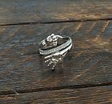 Кольцо  женское серебряное Ручка и Ножка Младенца КЦ-19 Б, фото 2