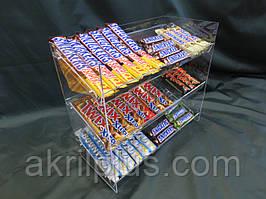 Витрина под шоколадки