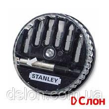 Набор бит STANLEY 1-68-738, Pozidriv, PZ0, PZ1, PZ2, L = 25 мм, 7 шт, пластиковая коробка